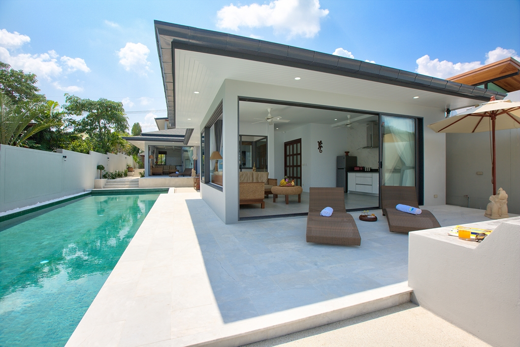 Samui beautiful beach villas for Beautiful villas pics